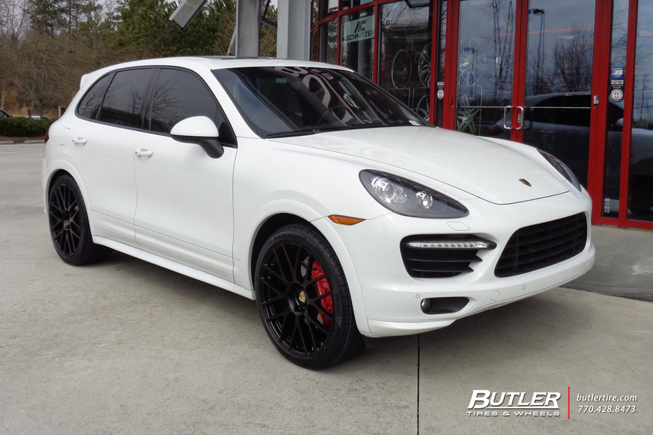 porsche cayenne with 22in victor innsbruck wheels exclusively from butler tires and wheels in. Black Bedroom Furniture Sets. Home Design Ideas
