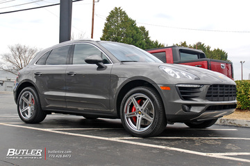 Porsche Macan with 20in TSW Mirabeau Wheels