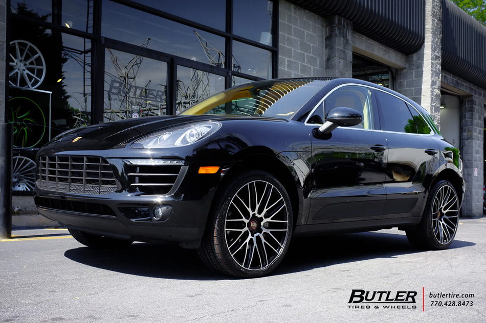 The Mercury Atlanta >> Porsche Macan with 22in Savini BM13 Wheels exclusively from Butler Tires and Wheels in Atlanta ...