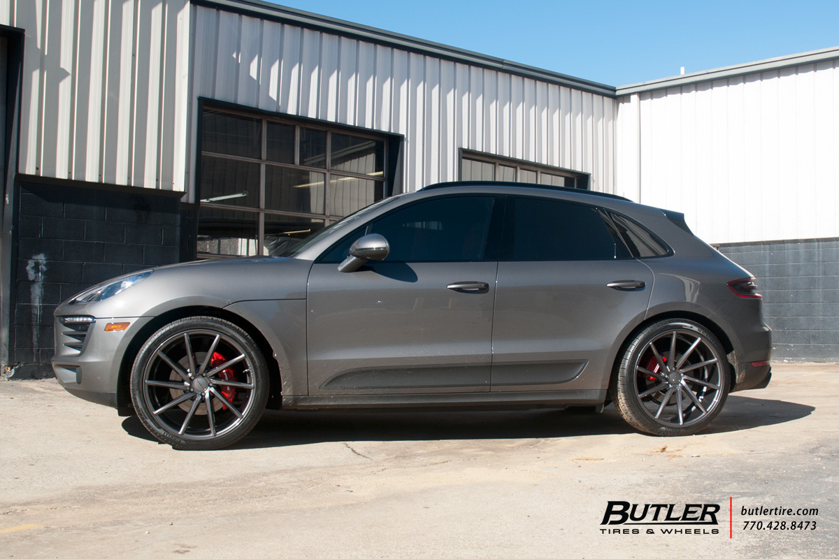 Porsche Macan With 22in Vossen Cvt Wheels Exclusively From
