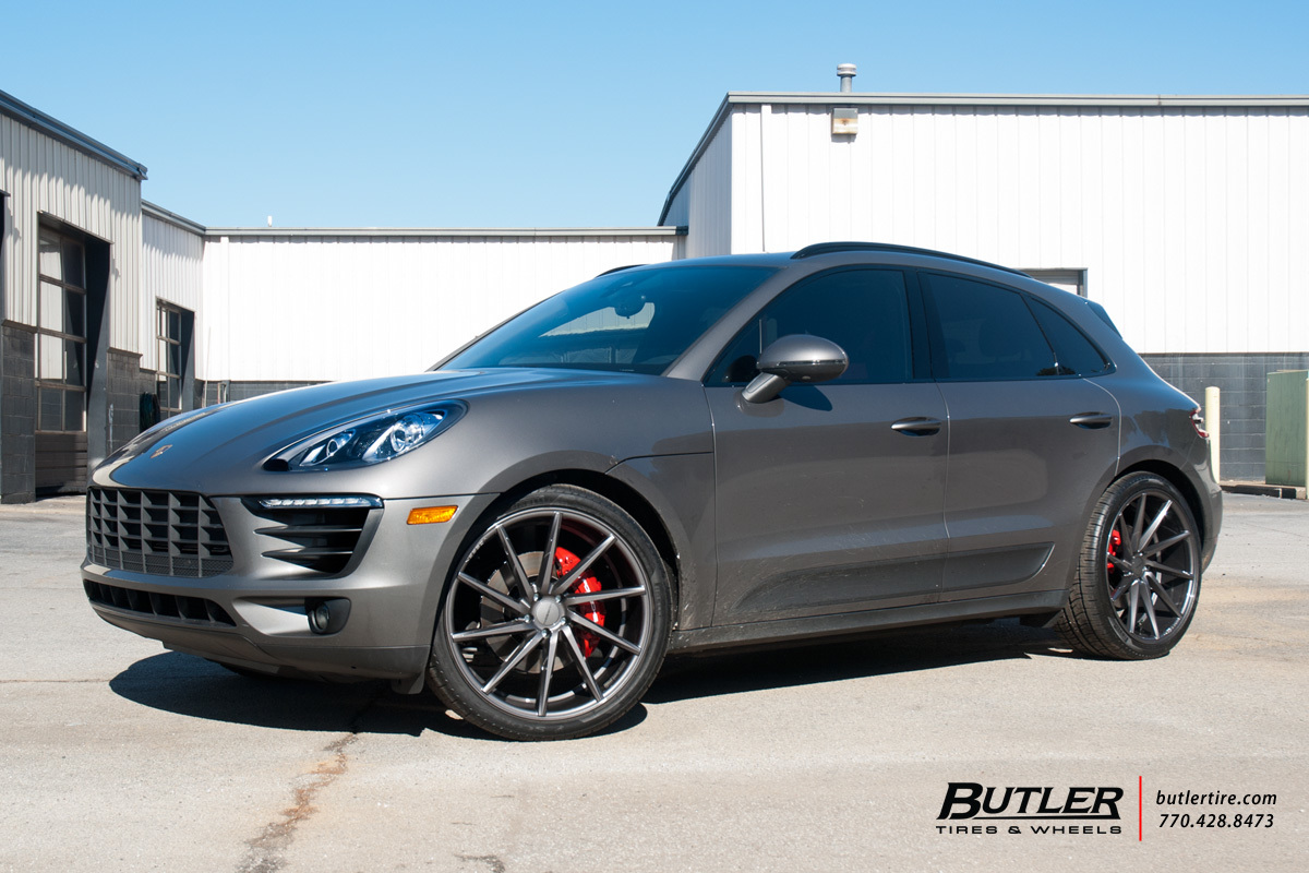 Audi Of Atlanta >> Porsche Macan with 22in Vossen CVT Wheels exclusively from Butler Tires and Wheels in Atlanta ...