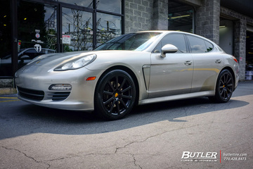 Porsche Panamera with 20in Victor Zehn Wheels