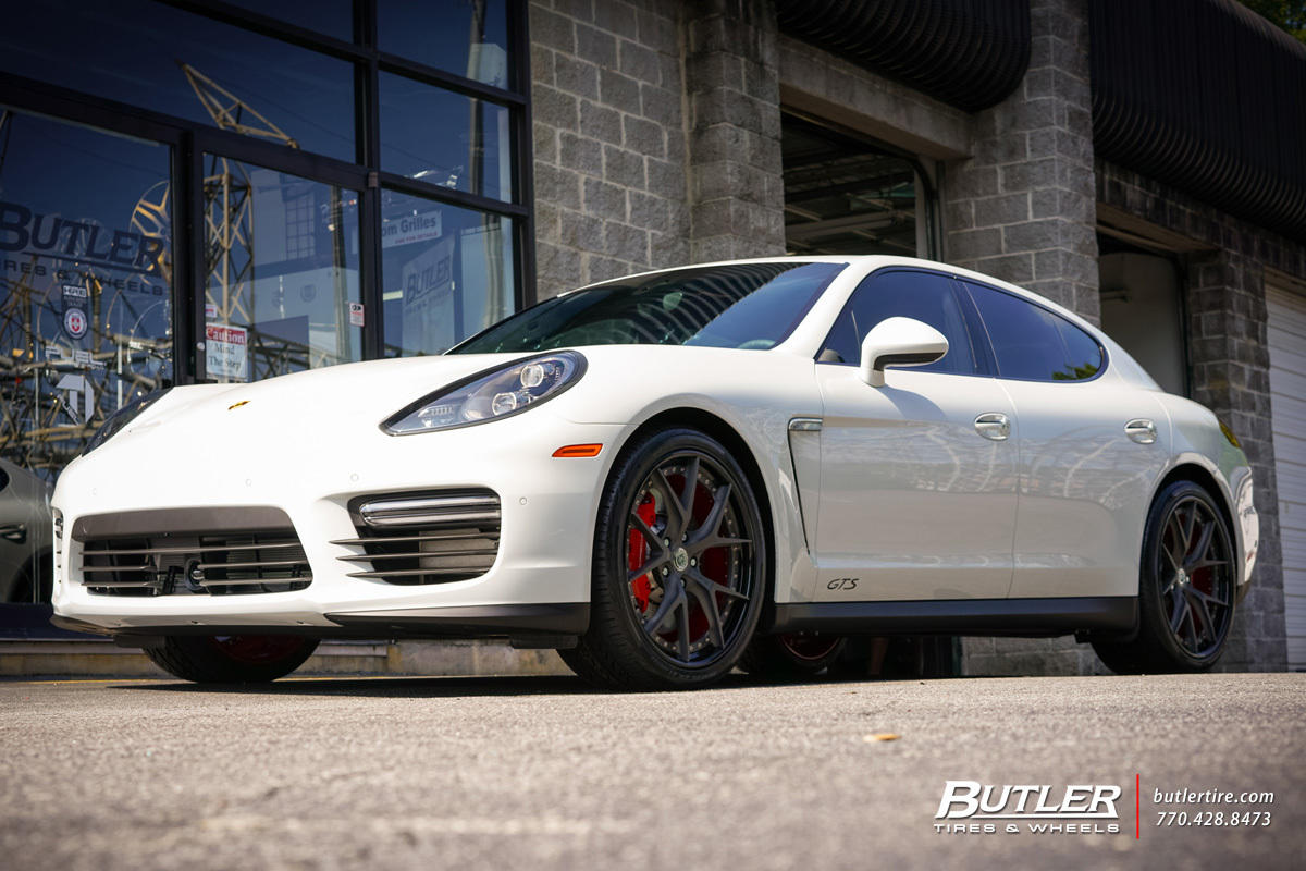 Porsche Panamera with 21in HRE S101 Wheels