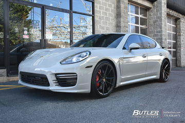 Porsche Panamera with 21in Victor Zuffen Wheels