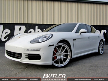 Porsche Panamera with 22in DUB Type 45 Wheels