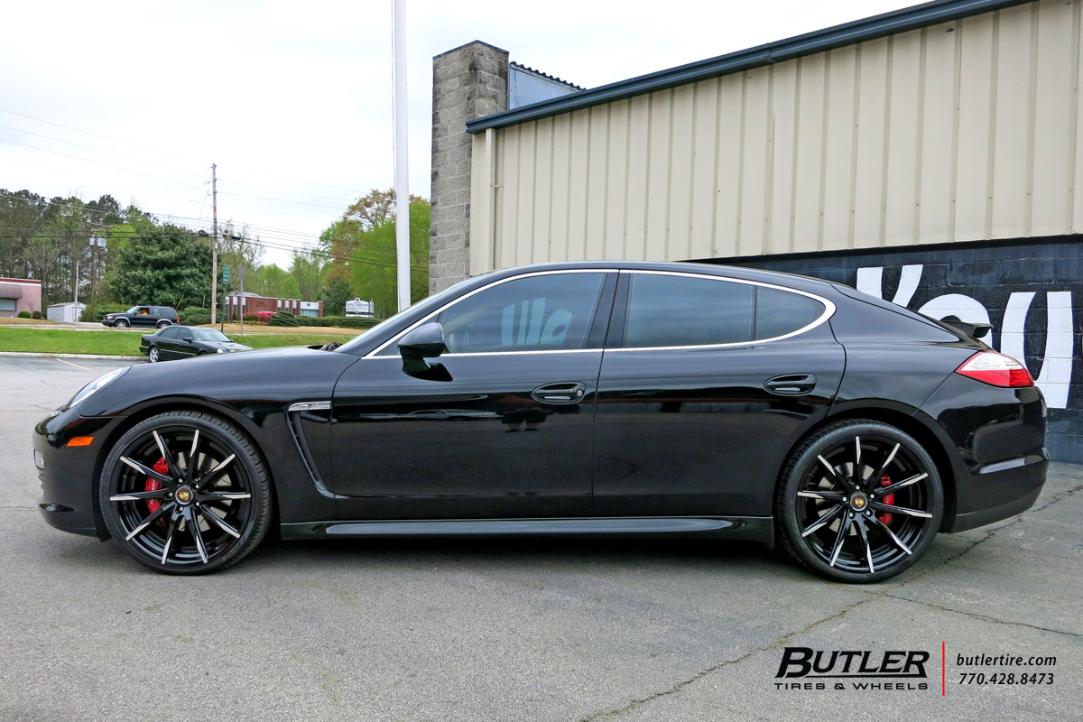 Porsche Panamera With 22in Lexani Css15 Wheels Exclusively