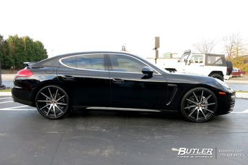 Porsche Panamera with 22in Lexani CSS15 Wheels