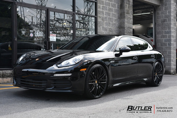 Porsche Panamera with 22in Niche Anzio Wheels