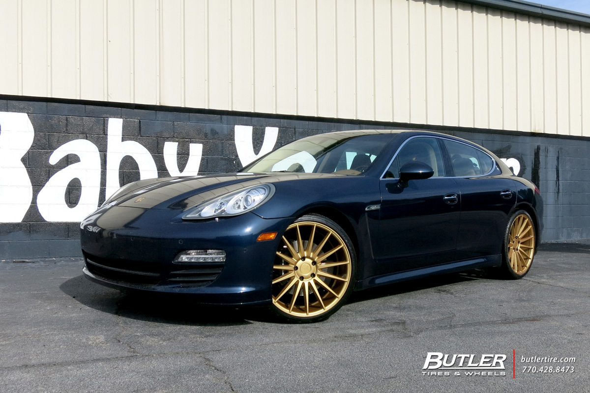 Porsche Panamera with 22in Niche Form Wheels exclusively from ...