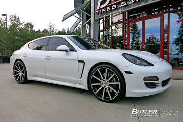 Porsche Panamera with 22in Roadforce RC10 Wheels