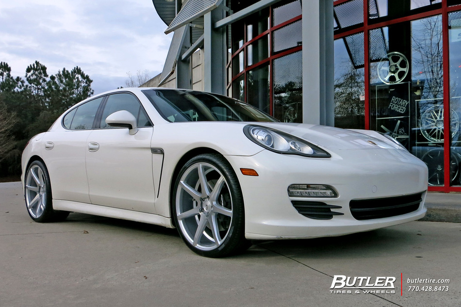 Audi Of Atlanta >> Porsche Panamera with 22in Savini BM10 Wheels exclusively from Butler Tires and Wheels in ...