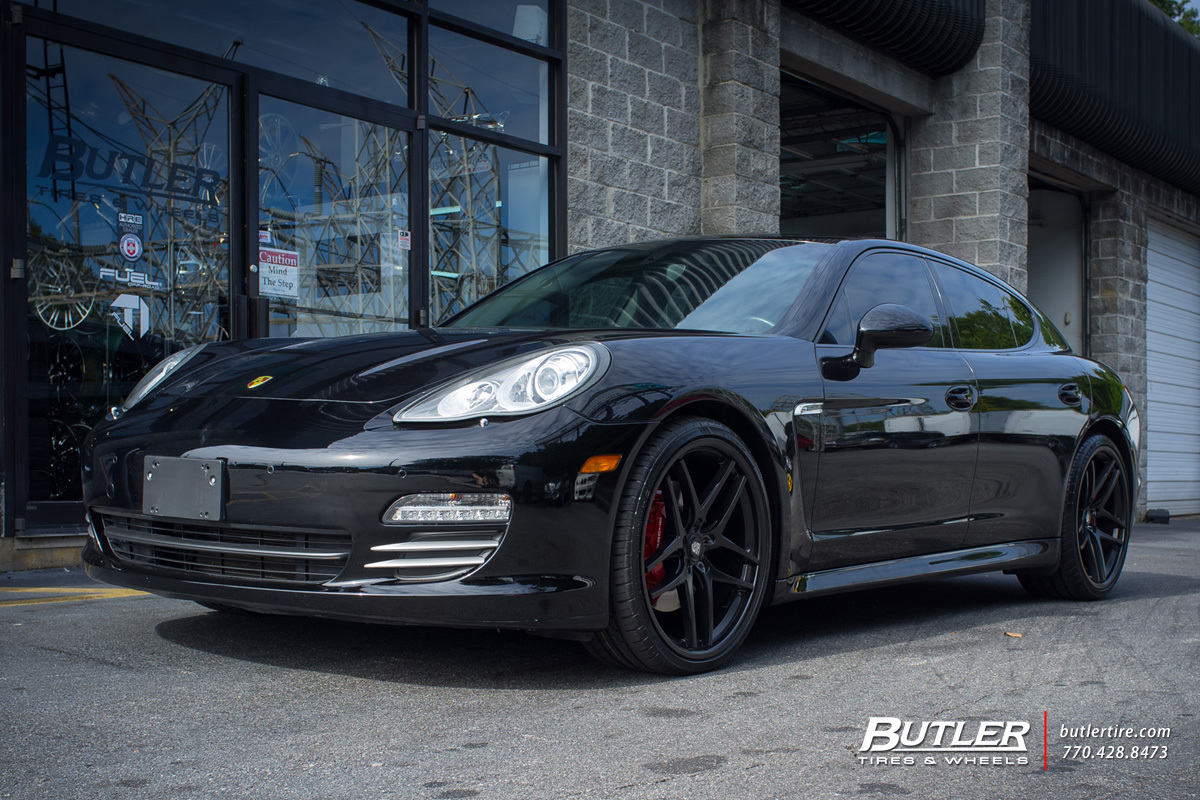 Porsche Panamera with 22in Savini BM7 Wheels