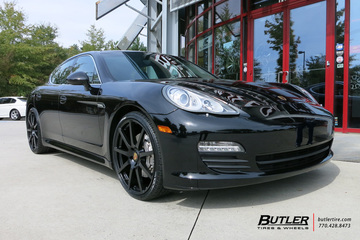 Porsche Panamera with 22in TSW Interlagos Wheels