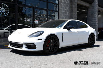 Porsche Panamera with 22in Vossen CG-203 Wheels
