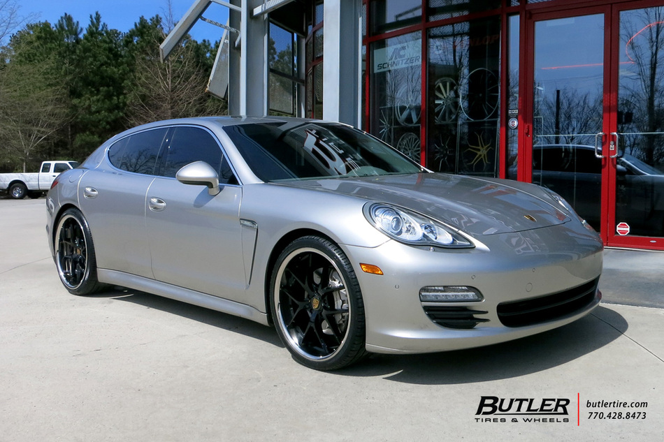 Porsche Panamera With 22in Xo Athens Wheels Exclusively