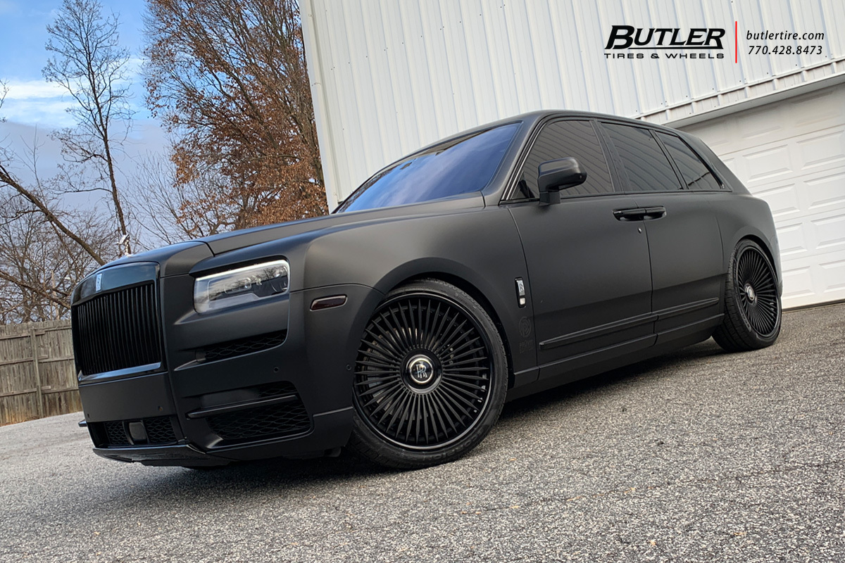 Rolls Royce Cullinan with 24in Avant Garde AGL45 Wheels