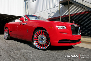 Rolls Royce Dawn with 24in Forgiato Calibro Wheels
