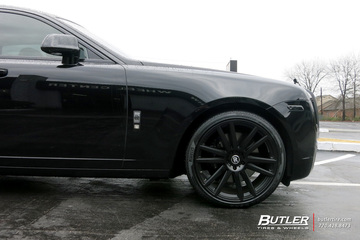 Rolls Royce Ghost with 22in TSW Gatsby Wheels