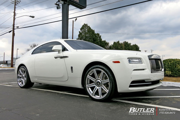 Rolls Royce Wraith with 22in Avant Garde AGL22 Wheels