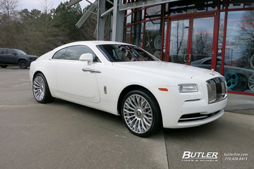 Rolls Royce Wraith with 22in Forgiato RDB-ECL Wheels