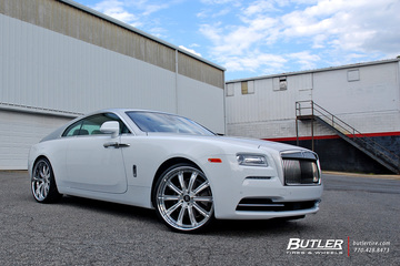 Rolls Royce Wraith with 24in Avant Garde AGL11 Wheels