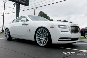 Rolls Royce Wraith with 24in Avant Garde AGL20 Wheels