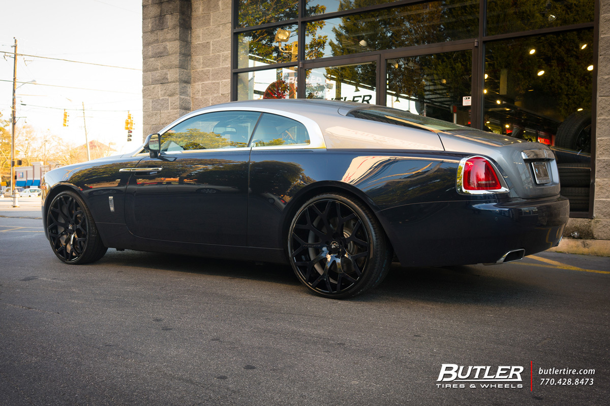 wraith rolls royce custom. rolls royce wraith with 24in forgiato drea ecl wheels custom