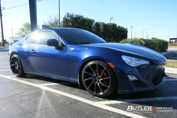 Scion FRS with 19in Savini BM15 Wheels