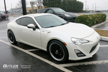 Scion FRS with 19in TSW Valencia Wheels