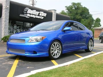 Scion Tc with 18in Axis Decade Wheels