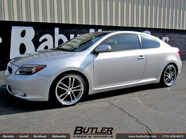 Scion Tc with 18in TSW Cadwell Wheels