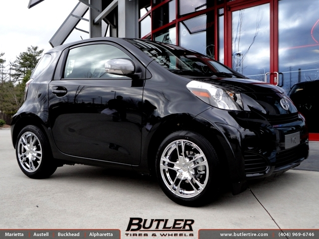 Scion iQ with 16in Verde Protocol Wheels