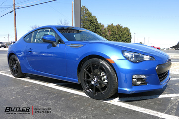 Subaru BRZ with 18in TSW Interlagos Wheels