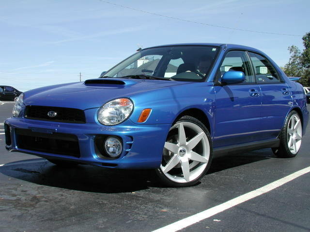 Subaru WRX with 19in Unknown Wheels