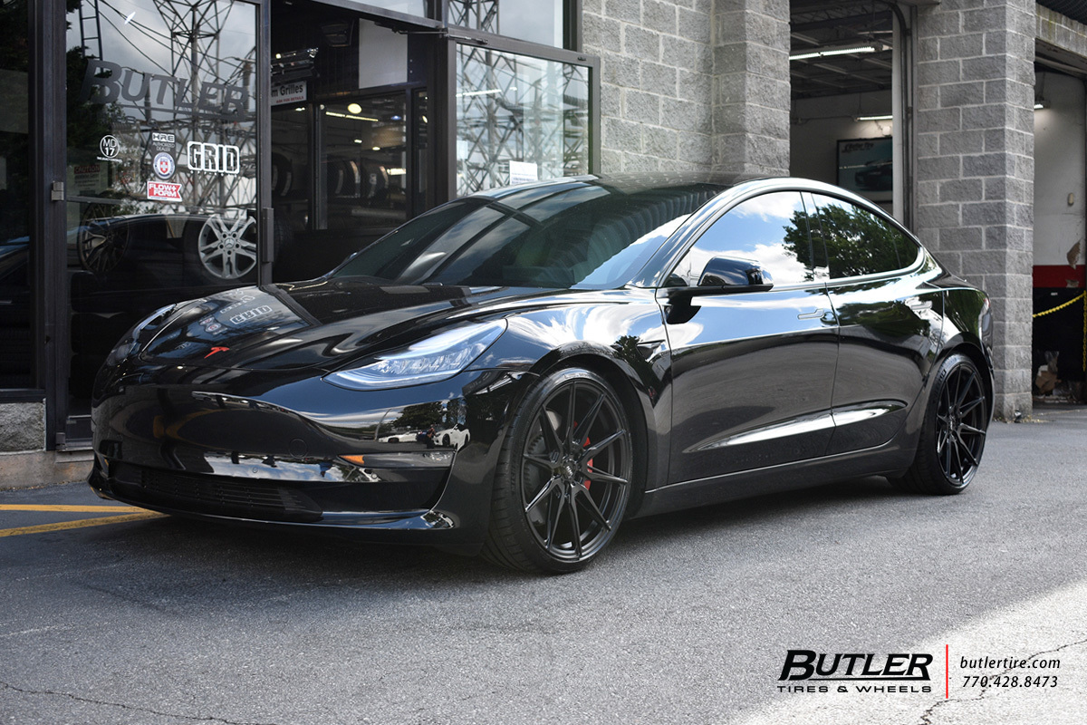 Tesla Model 3 with 20in ADV1 ADV05 Wheels