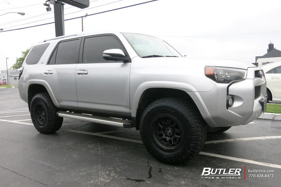 Land Rover Atlanta >> Toyota 4Runner with 17in Black Rhino Barstow Wheels ...
