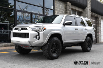 Toyota 4Runner with 17in Black Rhino Chase Wheels