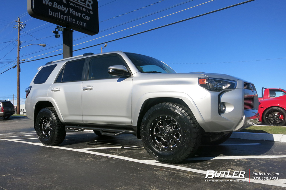Toyota 4runner With 17in Fuel Boost Wheels Exclusively