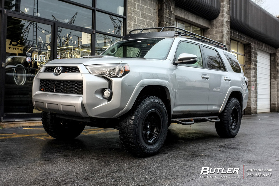 Toyota 4runner With 17in Fuel Jm2 Wheels Exclusively From