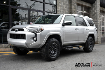 Toyota 4Runner with 17in Fuel Nitro Wheels