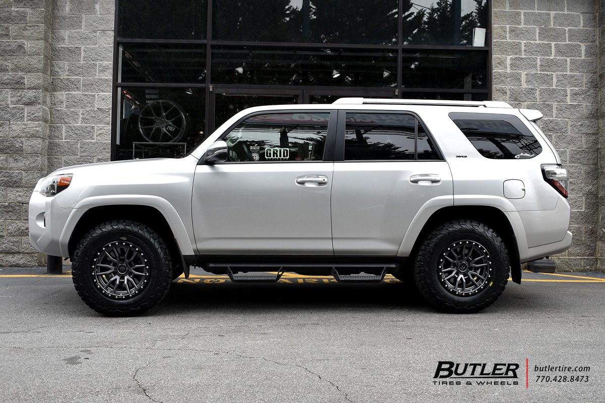 Toyota 4runner With 17in Fuel Nitro Wheels Exclusively From Butler Tires And Wheels In Atlanta Ga Image Number 11751