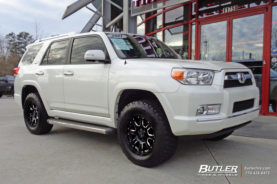 Toyota 4Runner Wheels >> Toyota 4Runner with 18in Black Rhino Sierra Wheels exclusively from Butler Tires and Wheels in ...
