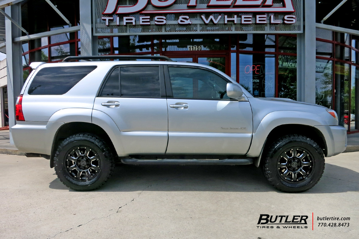 Toyota 4runner With 18in Black Rhino Sierra Wheels Exclusively From Butler Tires And Wheels In