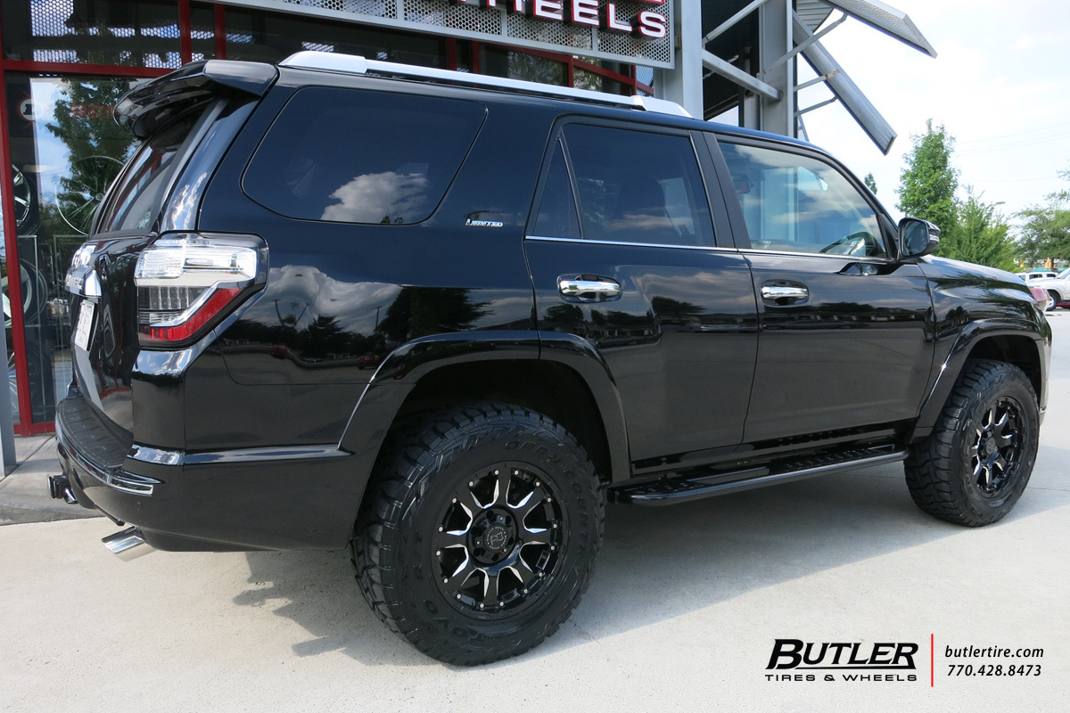 Toyota 4runner With 18in Black Rhino Sierra Wheels