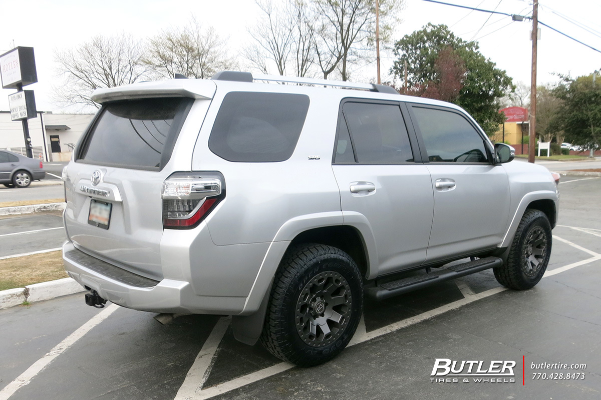 Toyota 4Runner with 18in Black Rhino Warlord Wheels