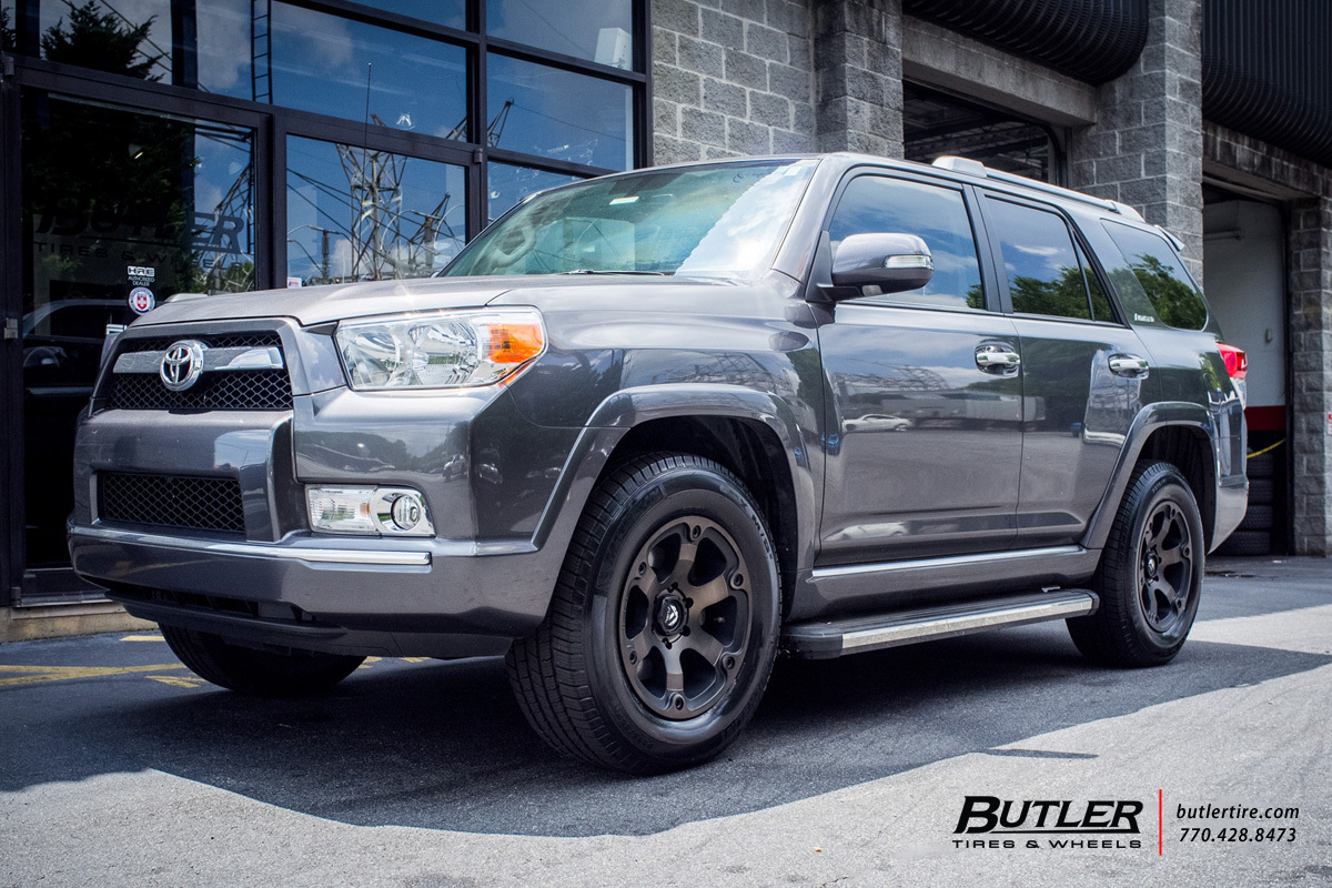 Toyota 4runner With 18in Fuel Beast Wheels Exclusively