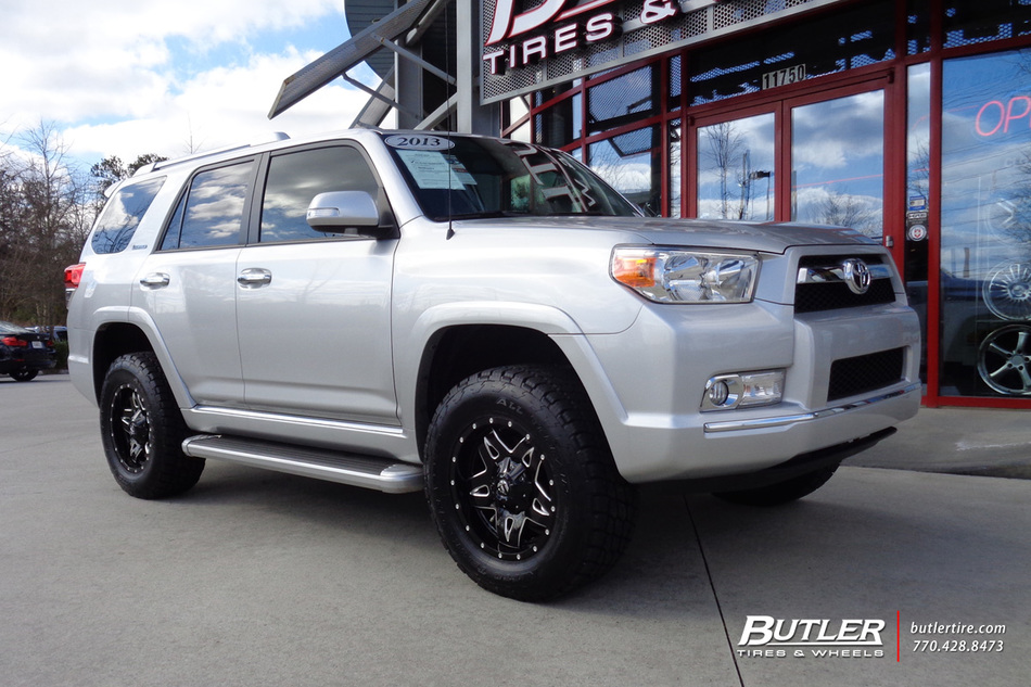 Blown Smart Car >> Toyota 4Runner with 18in Fuel Full Blown Wheels exclusively from Butler Tires and Wheels in ...