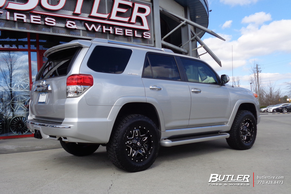 Toyota 4Runner with 18in Fuel Full Blown Wheels
