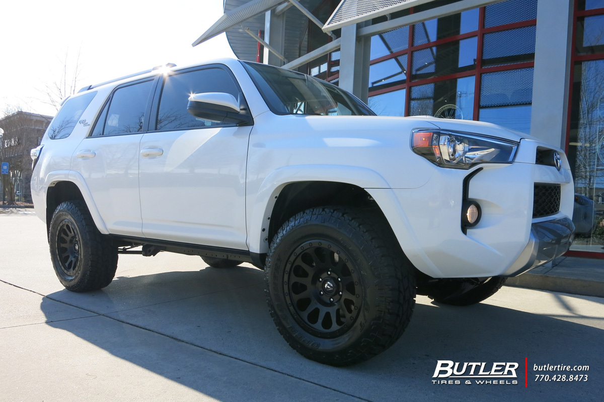 Toyota 4runner With 18in Fuel Vector Wheels Exclusively