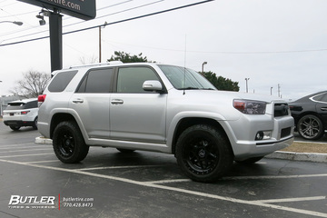 Toyota 4Runner with 20in Black Rhino Kelso Wheels